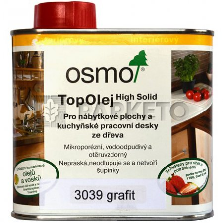 3039 Top olej Grafit